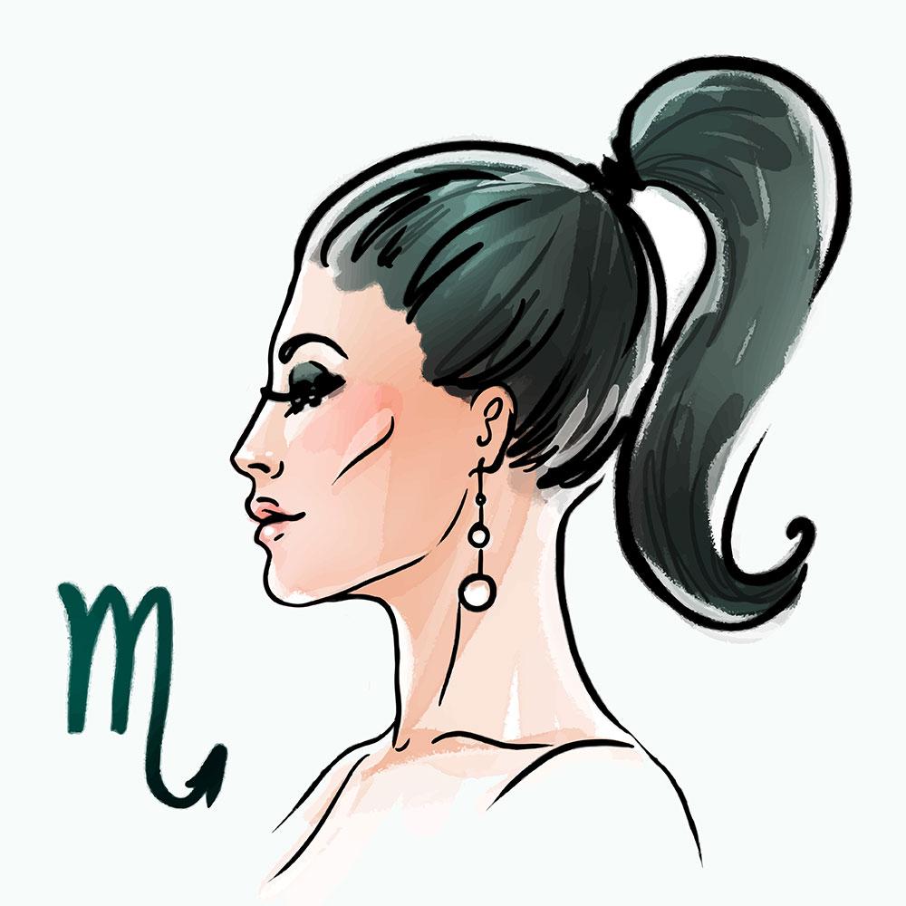 Scorpio zodiac sign as a beautiful girl - Aries Man and Scorpio Woman