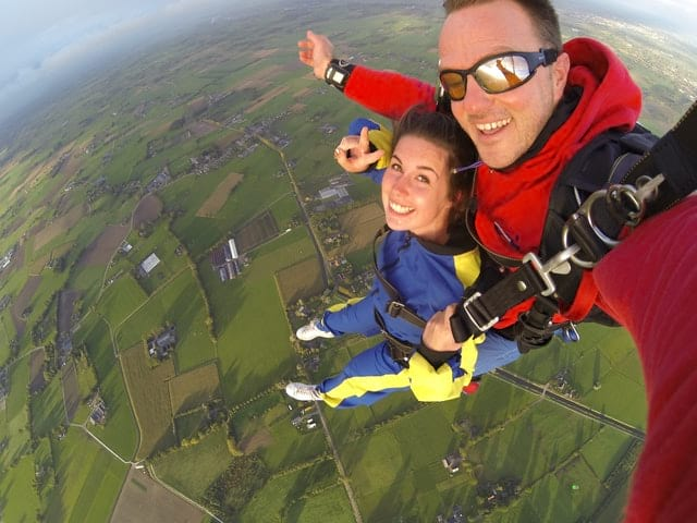 Date Idea With An Aries Man - Adventure Skydiving