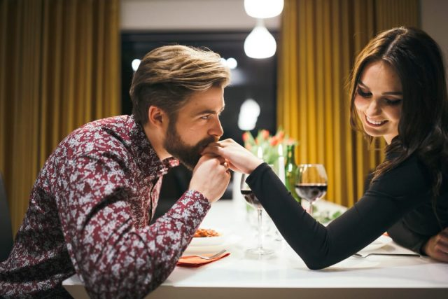 Aries Man Flirting With You - Signs He Likes You